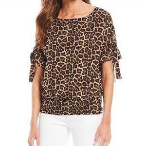 MICHAEL Michael Kors, leopard blouse